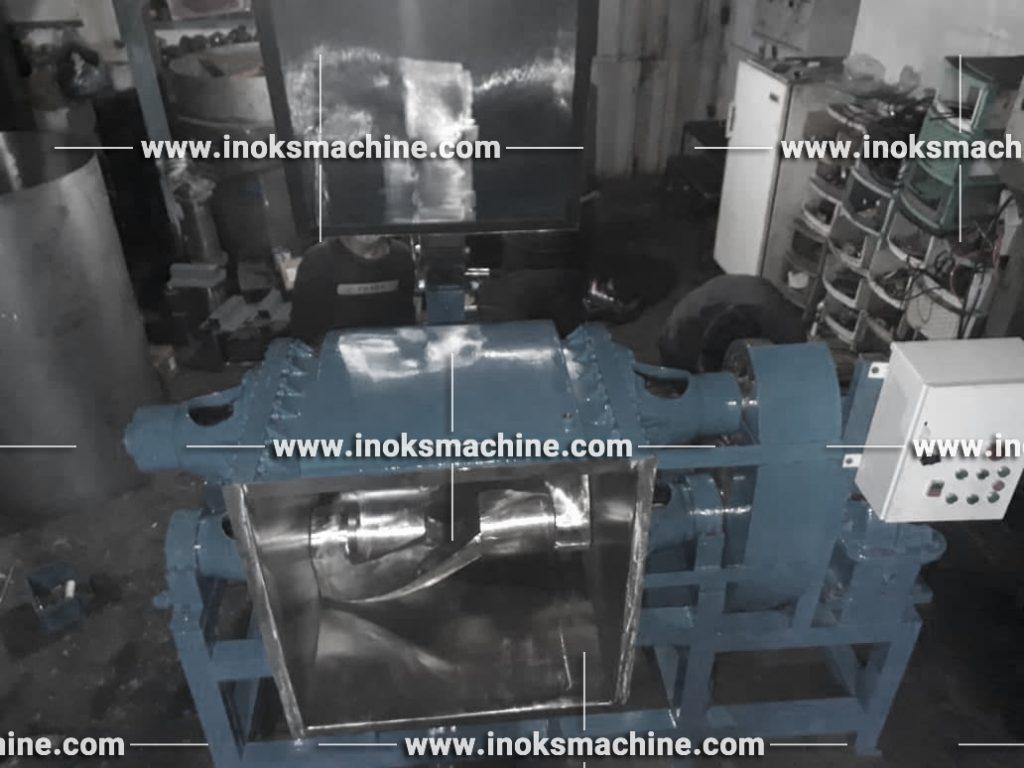 تولید دستگاه زد میکسر اینوکس ماشین